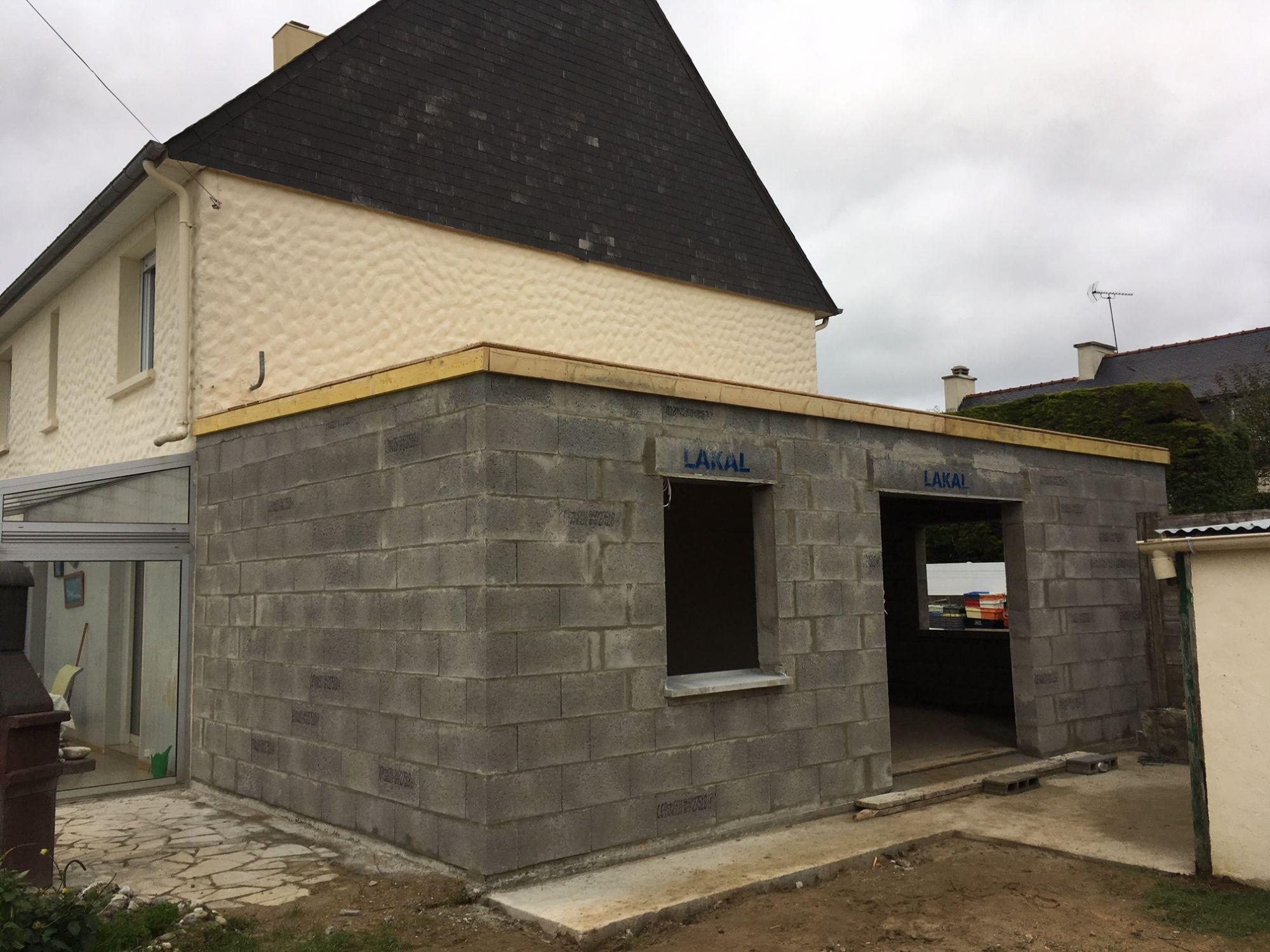 Devis Extension Maison  Le Blanc-Mesnil ▷ Agrandissement Bois, Acier, Parpaing